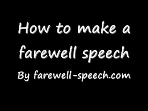what to write a speech about for school