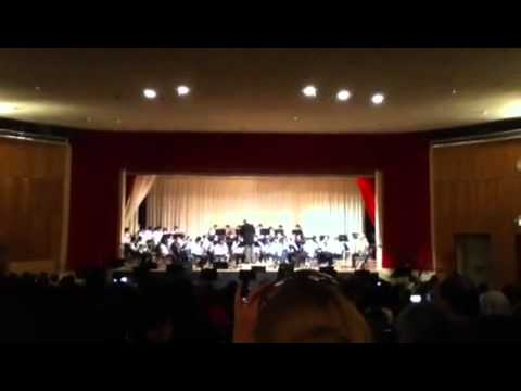 Regal march band Herbert hoover middle school Sf