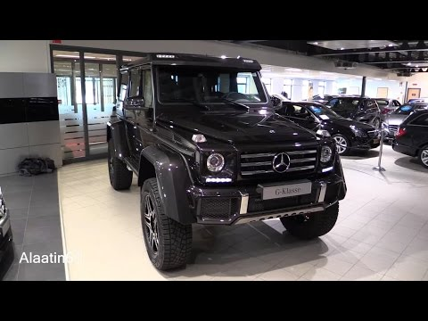 Mercedes-Benz G Class G500 4x4 2017 In Depth Review Interior Exterior