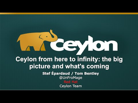 Ceylon From Here to Infinity: The Big Picture and What's Coming