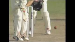 India v Australia 3rd Test Kolkata 2001 - Harbhajan Singh's hat trick