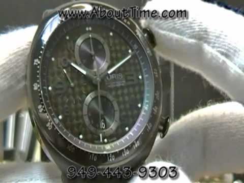 Oris TT3 Chornograph Black Watch Video from About Time Watch Company
