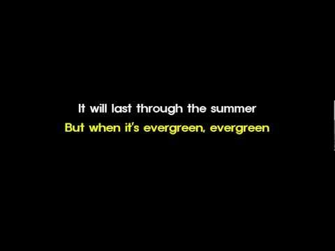 Evergreen - Susan Jacks video