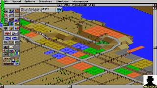 SimCity 2000 longplay 🔴 Live Stream Gaming 2018