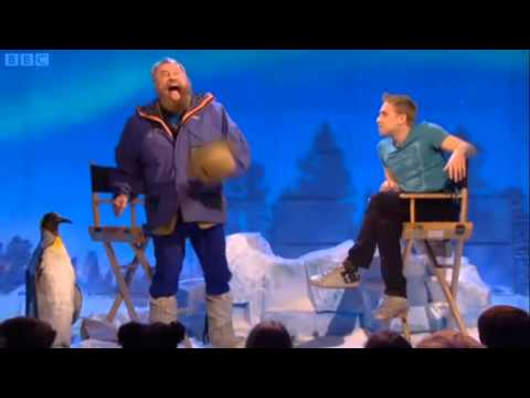 Russell Howard's good news special mystery guest - Brian Blessed