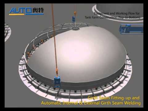 05 Tank Farm Project top to Bottom Construction Method and Equipment