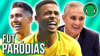♫ 3x1 - BRASIL GANHA NO SUFOCO DA REP. TCHECA | Paródia Qualidade De Vida - Simone & Simaria