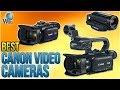 6 Best Canon Video Cameras 2018