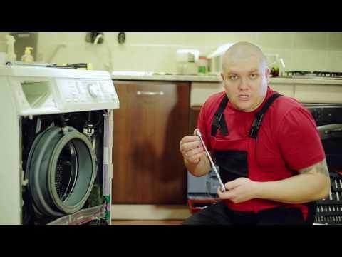 Замена амортизаторов в стиральной машине Miele
