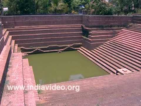 Temple pond of Akliyathu Shiva temple