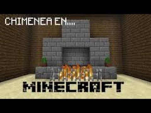 Minecraft como hacer una chimenea 1 4 1 1 4 youtube - Como se construye una chimenea ...