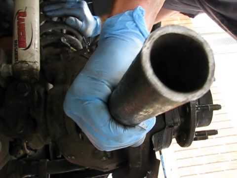 F350 Front U-joint Removal and Install