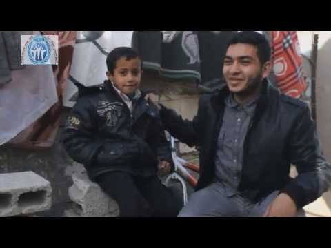 Nerve of Life Team in Gaza - NLTG Family orphan