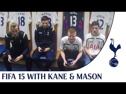 FIFA 15 Challenge | Harry Kane & Ryan Mason vs Spurs Fans