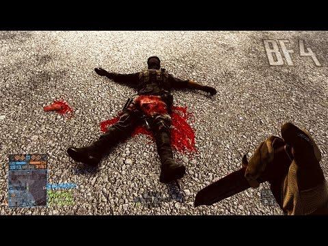 Я отрезал ему Х*Й - Battlefield 4