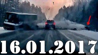 Подборка АВАРИИ и ДТП  январь 2017. Accidents Car Crash. #417 блогер