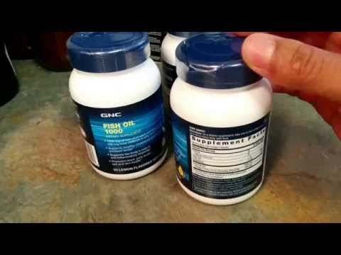 GNC FISH OIL & MEGA MEN EYE HEALTH MULTIVITAMIN