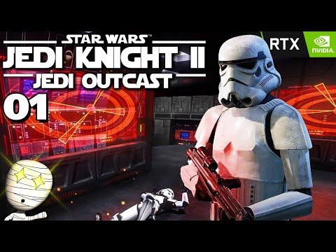 Eins der besten Star Wars Spiele! - Star Wars Jedi Knight 2 Jedi Outcast #1 - deutsch Gameplay RTX