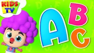 Fantasy Alphabets   ABC Song   The Supremes Cartoons   Learning Videos For Babies - Kids TV