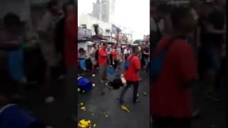 Tài xế xe điên gây tai nạn liên tiếp ở Malaysia