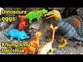 Đồ chơi trẻ em Khủng long đại chiến Video 4k Dinosaur toys