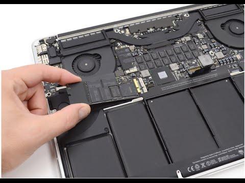 Замена SSD на MacBook Pro Retina 13'' A1425