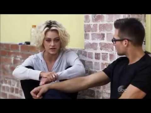 DWTS Season 18: James Maslow & Peta Murgatroyd - behind the scenes