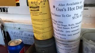 Street Food upstate New York Gus' Hot Dogs Watervliet, New York Food Paradise