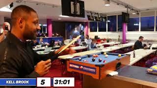 Micro Snooker Challenge: Kell Brook