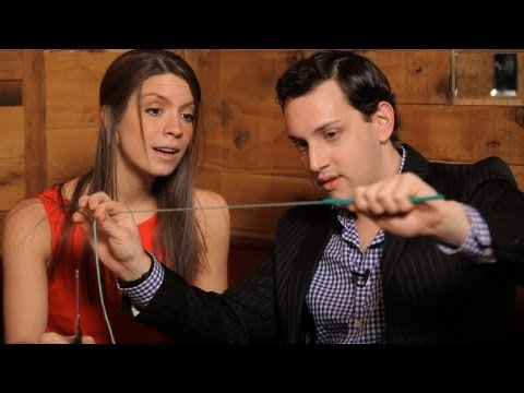 String in Straw Magic Trick | Dinner Table Magic Tricks
