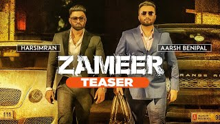 Song Teaser ► Zameer: Aarsh Benipal, Harsimran | Releasing 19 November