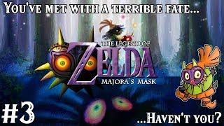 [LIVE] The Legend of Zelda: Majora's Mask! | Part 3, Blind! | Come hang out with us!