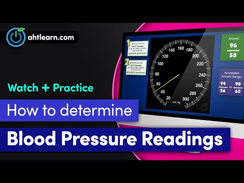 LearningTools: Blood Pressure Basics - Audio-Visual Coordination Skills