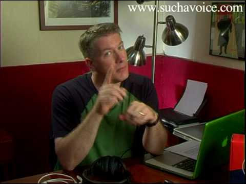 Voice-Over Home Studio | Recording Voice-Overs at Home