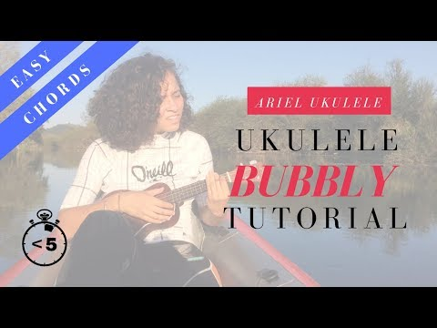 Bubbly - Ukulele Tutorial/Cover - Colbie Caillat
