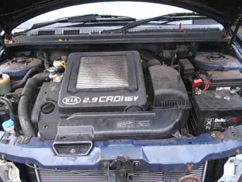 Kia Sedona 2 9 Crdi Running Engine Code J3 Youtube