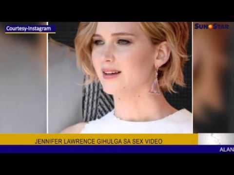 Showbiz: Jennifer Lawrence gihulga sa sex video