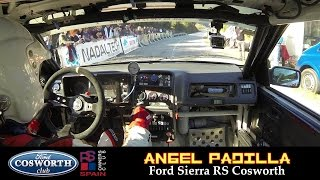 FORD SIERRA COSWORTH - INSANE ONBOARD Rally [ Sideways & Sound ]