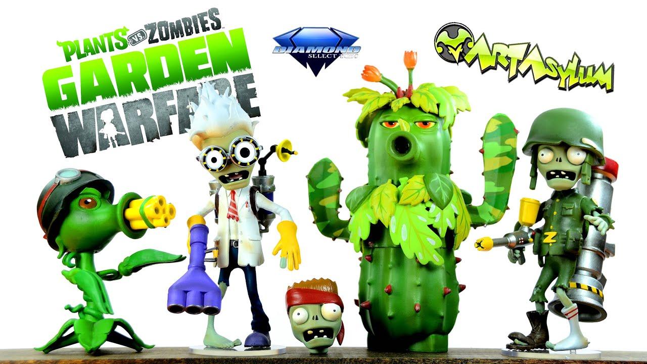 Plants vs zombies garden warfare peashooter vs scientist - Plants vs zombies garden warfare toys ...