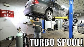 I Straight Piped My Turbo Diesel Mercedes! Loud Turbo Spool & Weird Cold Starts
