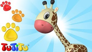 Animal Toys for Children | Giraffe | TuTiTu Animals