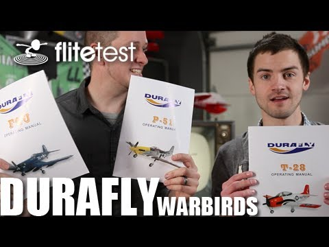 Flite Test - Durafly Warbirds - REVIEW