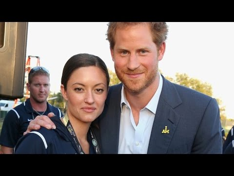 Was Prince Harry Flirting With American Swimmer at The Invictus Games?