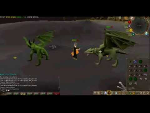 Runescape: Green dragon's guide. [600k+p/hr] (new wilderness)