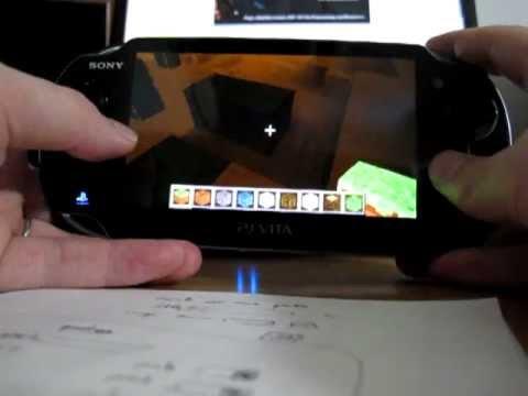 Lamecraft Minecraft clone on the PS Vita