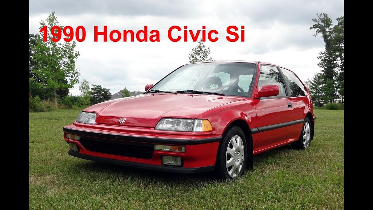 Honda Civic Si 1995 Hatchback >> Brand New 1990 Honda Civic Si - YouTube