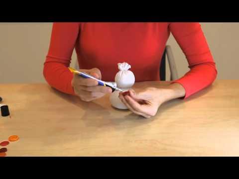 Мастер-класс: как сделать снеговика своими руками