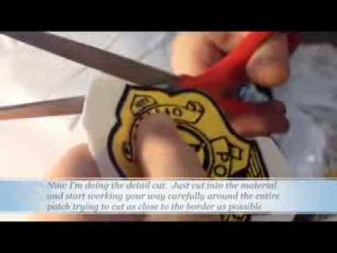 how to make your own embroidered patches cheap and easy diy badges youtube