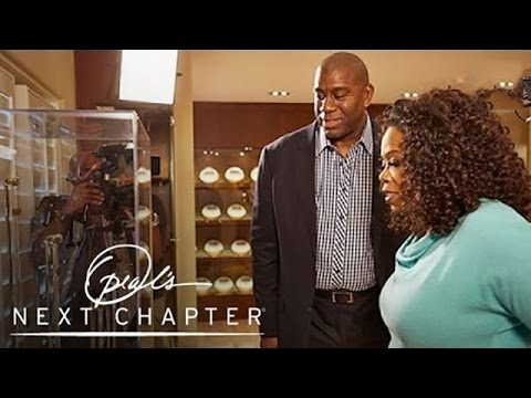 Inside Magic Johnson's Man Cave - Oprah's Next Chapter - Oprah Winfrey Network