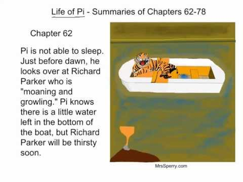 Life of Pi - Summaries of Chapters 62-78